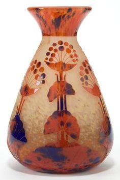 Schneider Glass Ombelles Vase