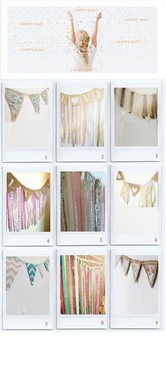 Banderines Y Guirnaldas De Tela / Arpillera - $ 180,00 Unicorn Party, Sewing Hacks, Gallery Wall, Tropical, Frame, Babyshower, Vintage Posters, Vintage Decor, Hanging Fabric