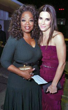Oprah Winfrey & Sandra Bullock