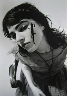 Richard Kern Lung With Lizard, 1987. Thanks to foxesinbreeches