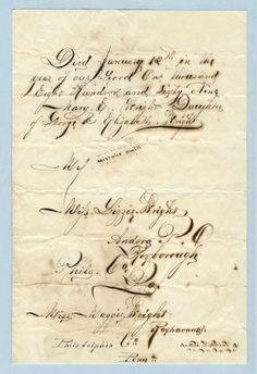 Old Hand Script