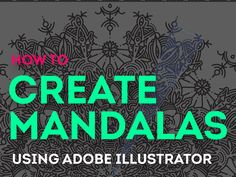 Hello everyone, Breno here :)    I have made this detailed tutorial on how to create mandalas on Illustrator easily.  Where I'll teach you how to make a structure to quickly do mandalas just drawing o...