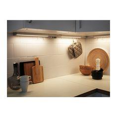 UTRUSTA LED worktop lighting w power supply  - IKEA