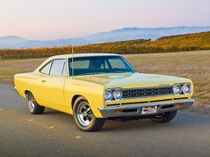 My First Car was a 1968 Plymouth Road Runner with a 383 Magnum, light yellow and was a blast... What Was Yours? - Automotive Digital Marketing Professional Community