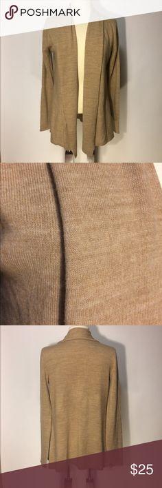 🦄Sag Harbor Tan Long Cardigan Sz S Sag Harbor tan long Cardigan Sz S. super soft and comfy. In excellent condition. Sag Harbor Sweaters Cardigans