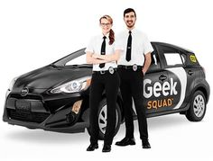 9. Unfortunately, during his first semester of college, Calvin's new laptop had some problems right before he had an assignment due. He took it into the Geek Squad at Best Buy, and they were able to not only recover his documents, but also provided him with a new laptop which was covered under the warranty Calvin had purchased.