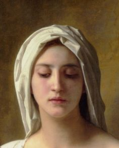 """William-Adolphe Bouguereau, """"charity"""" (detail) 