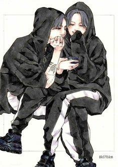 Read treinta y cuatro 🌹 from the story kookmin (Imágenes) �� by with 463 reads. Yoonmin Fanart, Jungkook Fanart, Jungkook Jimin, Kpop Fanart, Vmin, Kpop Couples, Cute Couples, Jikook Manga, Vkook Memes