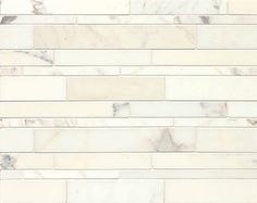 Calacatta Oro - WHITE Decorative Mosaic - MRBCALOROLNR | Bedrosians Tile & Stone
