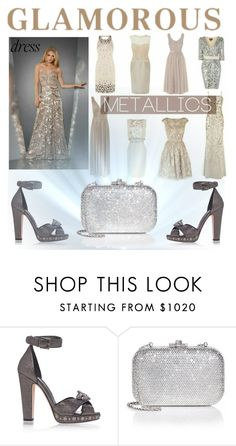 """""""Glamorous"""" by zoe-sneki ❤ liked on Polyvore featuring Alexander McQueen and Judith Leiber"""