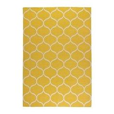 STOCKHOLM Rug, flatwoven - IKEA I'm going to paint the yellow rug on my floor with this pattern :) Ikea Design, Ikea Stockholm Rug, Ikea Shopping, Medium Rugs, Buy Rugs, Malm, Rugs Online, Carpet Runner, Rugs In Living Room