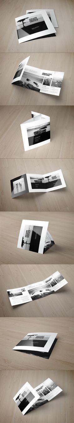 15个Square指南的三折页画册设计// Abra D 设计圈 展示 设计时代网-Powered by thinkdo3
