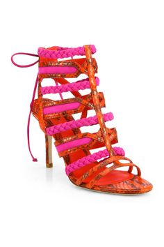20 Amazingly Colorful High Heel Sandals For Spring