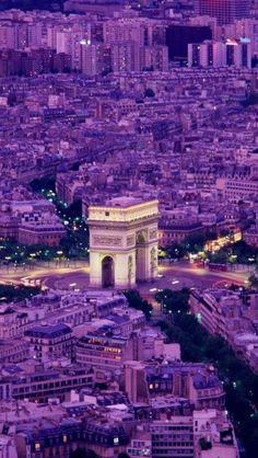 Arc De Triomph, Paris, France