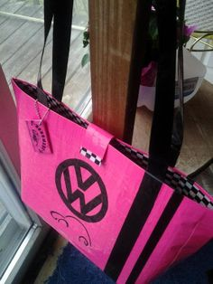 Volkswagen purse  duct tape purse  duck tape by theducktapediva, $35.00