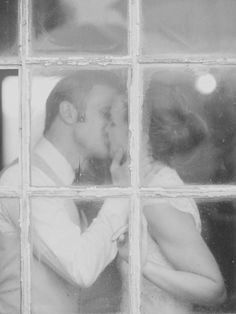stolen kiss www.jodimillerphotographyblog.com    This picture gets me excited for the wedding!