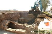 Restauratie van de stadsmuren van Buren Datering: 13-03-2006 Nummer: D 97