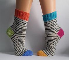 Your marketplace to buy and sell handmade items. Knitting Socks, Hand Knitting, Knitting Patterns, Knit Socks, Knitting For Beginners, How To Start Knitting, Crochet Slippers, Knit Crochet, Cool Baby