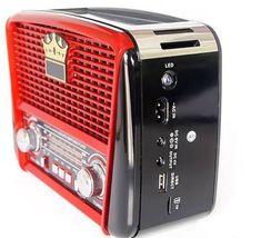 Solárne retro rádio reproduktor – Bestbuysolution SK Multimedia, Bluetooth, Usb, Home Appliances, Usb Drive, House Appliances, Appliances