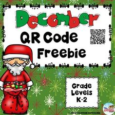 4 Christmas QR Codes for Your Listening Center with Student Response Sheets FreebieStudents love Technology and these QR Codes are easy and fun for students to use. If you have been wanting to try QR Codes here is your chance!This FREEBIE includes 4 Christmas themed stories that your students are sure to love.If you like this set you may also be interested in QR Codes Growing BundleJust print on cardstock, laminate for durability and place them in your listening center.