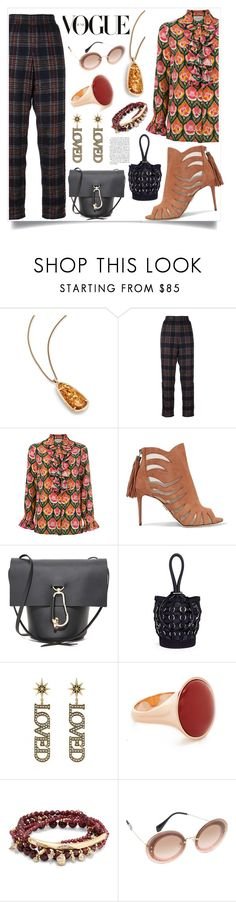"""Different is Style"" by justinallison ❤ liked on Polyvore featuring Kendra Scott, Chanel, Gucci, Paul Andrew, ZAC Zac Posen, Alexander Wang, Vita Fede and Miu Miu"