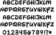 Waltograph font