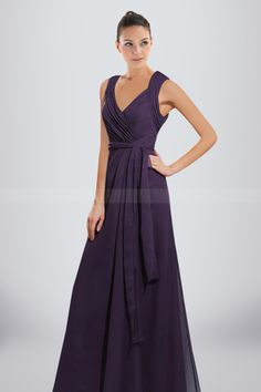 49e137d0bfeb Chic Chiffon Bridesmaid Dress with Soft Ruches and Key-hole Back Design  Unique Bridesmaid Dresses