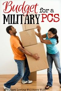 "Budget for a Military PCS: Are you moving this year with the thousands of other military families? Here is a great list of expenses and tips to ""find"" and save money for your PCS fund!"