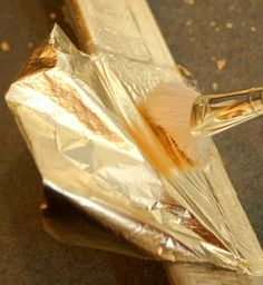 Gold Leaf Tutorial - Miss Mustard Seed