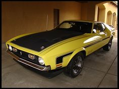 F232 1971 Ford Mustang Boss 351 Fastback 351 CI, 4-Speed Photo 1