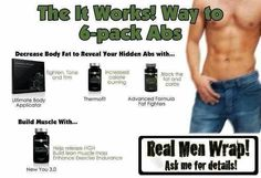 Real Men Wrap! Want more info on how you can tighten and tone!  Learn how you can try That Crazy Wrap Thing and see for yourself! https://byebyebulge.myitworks.com/  #Itworksglobal  #itworkswrap #workfromhome