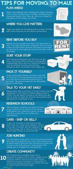 10 Steps for Moving to Maui: http://www.prideofmaui.com/blog/maui/10-steps-moving-maui.html
