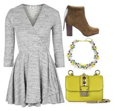"""""""Untitled #755"""" by meryem-mess ❤ liked on Polyvore featuring Valentino, Topshop and Cara"""