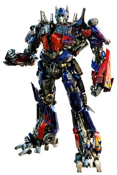 Optimus Prime inferial instructor and friends of humans