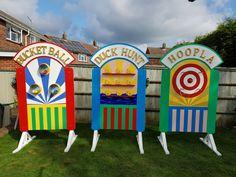 Vintage Style Fair Ground Games by WeddingCreatives on Etsy