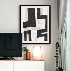 Dress your walls will Less. Art for the Minimalist. Featuring: Neutral Abstract II by Linda Woods Black Wall Art, Black White Art, Small Canvas Art, Canvas Art Prints, Framed Wall Art, Framed Prints, Brutalist Design, Simple Designs, Home Art