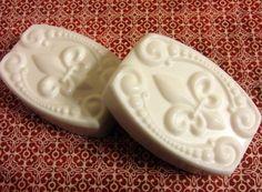 White Gardenia Soap with Goat's Milk  by LatherWorksBathBody, $5.00