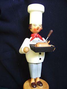 Vtg Mid-Century ULBRICHT Chef W. Germany