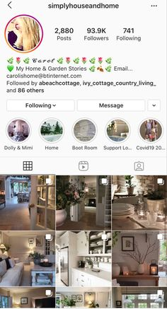 Instagram Accounts To Follow, Country Living, Accounting, Home And Garden, Cottage, Country Life, Business Accounting, Cabin, Cottages