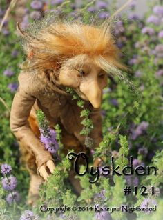 A Young Troll  Vyskden  OOAK Art Doll Sculpture by by nightswood