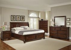 Reflections King Mansion Storage Bed, Dresser, Mirror, Chest and One Nightstand, /category/bedrooms/reflections-king-mansion-storage-bed-dresser-mirror-chest-and-one-nightstand.html