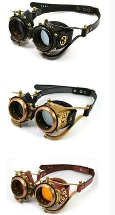 Safari Steampunk Anyone? Steampunk is a rapidly growing subculture of science fiction and fashion. Steampunk Cosplay, Viktorianischer Steampunk, Steampunk Kunst, Steampunk Gadgets, Steampunk Goggles, Steampunk Design, Steampunk Clothing, Steampunk Fashion, Steampunk Necklace
