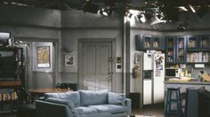 The empty set of Jerry's fictional New York apartment.