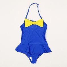 Blue Bow Swimsuit - Mini Rodini