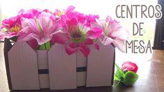 Centro de mesa económico para fiestas - Candy Bu