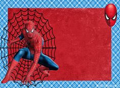 Spiderman: Free Printable Invitations, Cards or Photo Frames. Spider Man Party, Fête Spider Man, Spiderman Birthday Invitations, Superhero Birthday Party, Birthday Party Invitations, Superhero Invitations, Free Printable Invitations, Free Printables, Diy Invitations