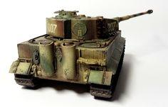 Luca's Wargame Corner: Wittmann Last Tiger - for 28mm wargame BOLT ACTION