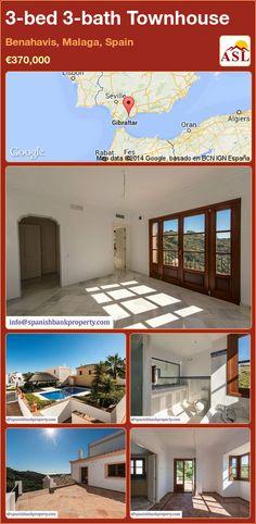 3-bed 3-bath Townhouse in Benahavis, Malaga, Spain ►€370,000 #PropertyForSaleInSpain