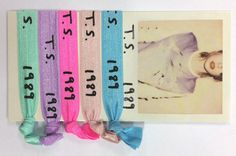 1989 Accessories : T.S. 1989 Hair Ties - Taylor Swift Please visit our website @ http://22taylorswift.com