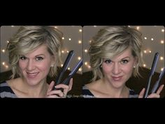 GREAT VIDEO TUTORIAL OF HOW SHE CURLS HER ASYMMETRICAL BOB